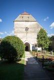 Old Cistercian-Benedictine monastery church in Carta, Romania. Cart Monastery is a former Cistercian-Benedictine monastery in the Tara Fagarasului region Stock Photos