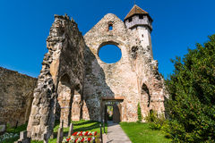 Old Cistercian Church in Carta, Romania stock photo