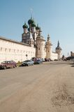 Old citadel. In Rostov-Velikiy, Russia royalty free stock photos