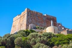 Old citadel of Bonifacio, Corsica, France Royalty Free Stock Photo