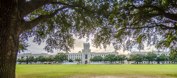 The old Citadel capus  buildings in Charleston south carolina Stock Images