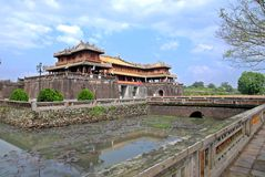Old citadel in Hue, Vietnam Stock Photo