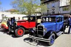 Old Citroen car from the 1920s Royalty Free Stock Photo