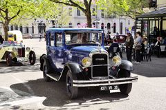 Old Citroen car from the 1920s Royalty Free Stock Images
