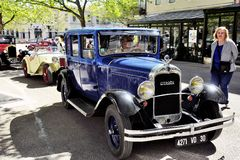 Old Citroen car from the 1920s Royalty Free Stock Photography