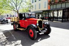 Old Citroen car from the 1920s Stock Image