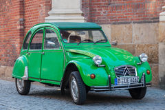 Old Citroen 2CV Stock Photos
