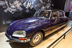 Old Citroen DS at the IAA 2015 Stock Image
