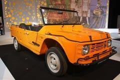 Old Citroen at Paris Motor Show 2014 Royalty Free Stock Photo