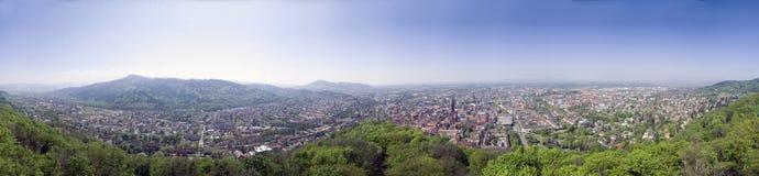 Old City. Historic  city of Germany (Freiburg Royalty Free Stock Photos