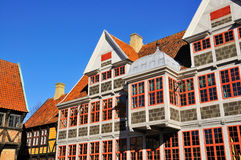 The old City of Aarhus. Royalty Free Stock Photos