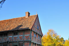 The old City of Aarhus. Stock Images
