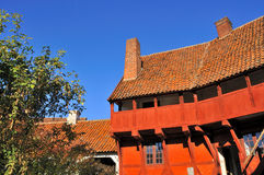 The old City of Aarhus. Stock Photography
