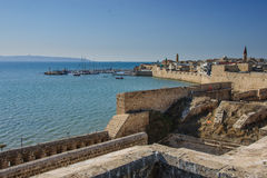The Old City of Acre Royalty Free Stock Photos