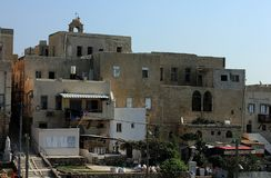 Old city of Akko Acre, Israel. royalty free stock photos