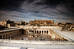 Old city of Aleppo Stock Image