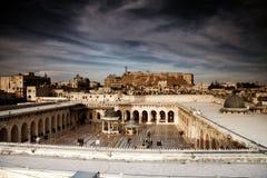 Old city of Aleppo. City of Aleppo in Syria Stock Image