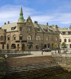 Old city of Alesund Royalty Free Stock Photography