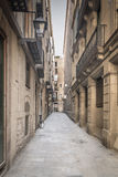 Old City Alley Way Stock Photo