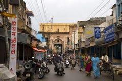 Old city, Alwar, Rajasthan, India. Old city in Alwar, Rajasthan, India royalty free stock photo