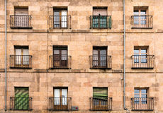 Old city architecture in Salamanca Royalty Free Stock Photo