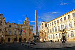 Old city, Arles, France Stock Images