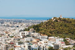 The old city of Athens Stock Photography