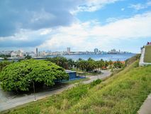 Havana in the horizont Royalty Free Stock Photography