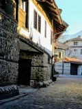 Old city Bansko Stock Photo
