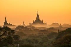 Old city Bargan. Old Bargan Myanmar Stock Images