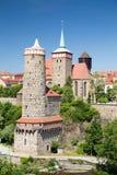 Old City Bautzen Stock Photography
