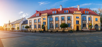 Old city in Bialystok, northeastern Poland Royalty Free Stock Photography
