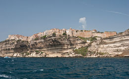 The old city of Bonifacio Royalty Free Stock Image