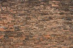 Old city brick wall in Nakhon Si Thammarat. Province, Thailand Royalty Free Stock Photo