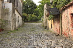 Old city. A bucolic image of a city in Uruguay. Colonia de Sacramento Stock Images