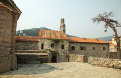 Old city of Budva Stock Photography