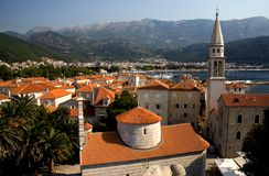 Old city,budva Stock Photos