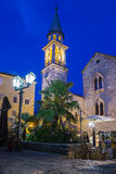 Old city in Budva, Montenegro Stock Photo