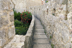 Old City of Budva, Montenegro Royalty Free Stock Photography