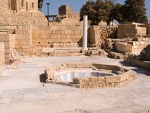The old city of Caesarea Israe Royalty Free Stock Images