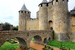Old city Carcassone Stock Images
