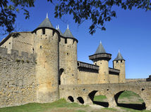 The old city of Carcassonne Royalty Free Stock Image
