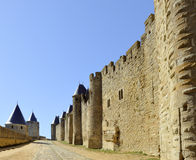 The old city of Carcassonne Stock Photo