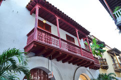Old city of Cartagena Stock Images