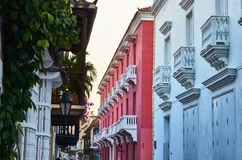 Old city of Cartagena Royalty Free Stock Image