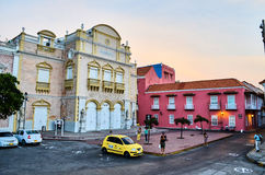 Old city of Cartagena Royalty Free Stock Images