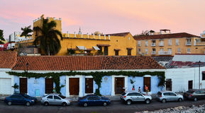 Old city of Cartagena Royalty Free Stock Photography