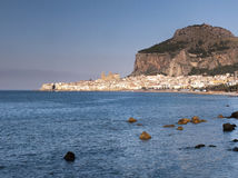 Cefalu old city, Sicily Royalty Free Stock Images