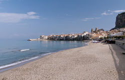 Cefalu old city, Sicily Stock Photography