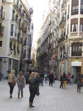 Old city center in Murcia, Spain Stock Photography